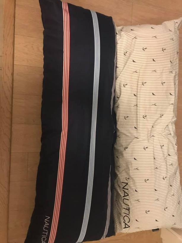 nautica body pillows from costco