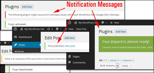 The WP Dashboard - A Step-By-Step Tutorial