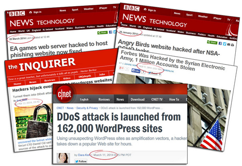 Thousands of websites are hacked every year! Could your website be next?
