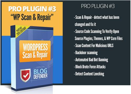 Blog Defender Security Solution For WordPress