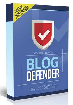 Blog Defender - Make Your Blogs Hidden To Hackers
