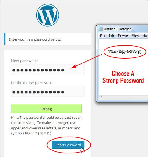 Retrieving Your Login Password