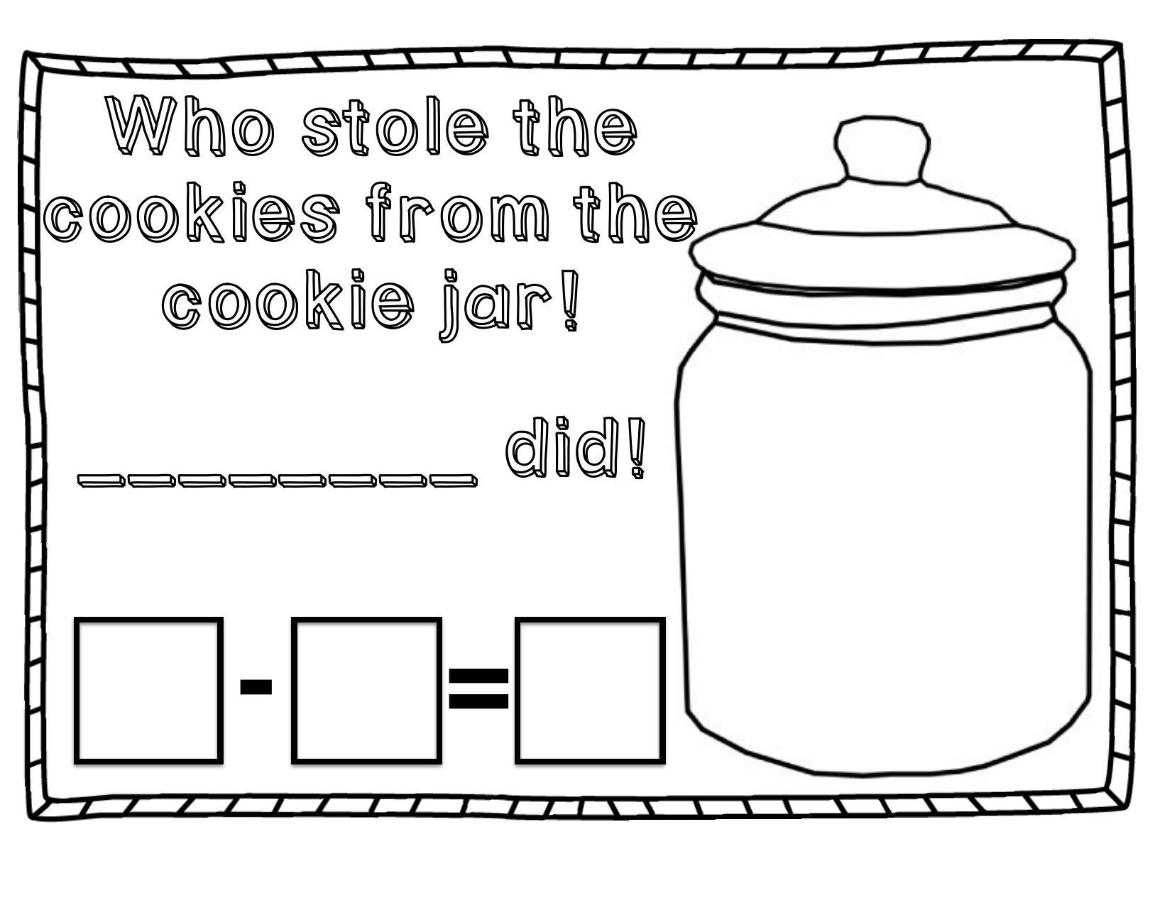 Jar Worksheet