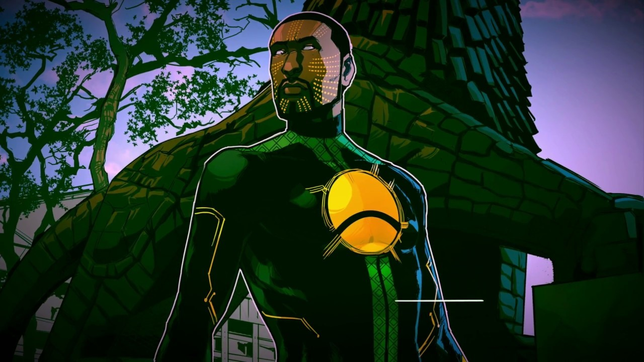 a comic book cover of the first Ethiopian superhero Jember