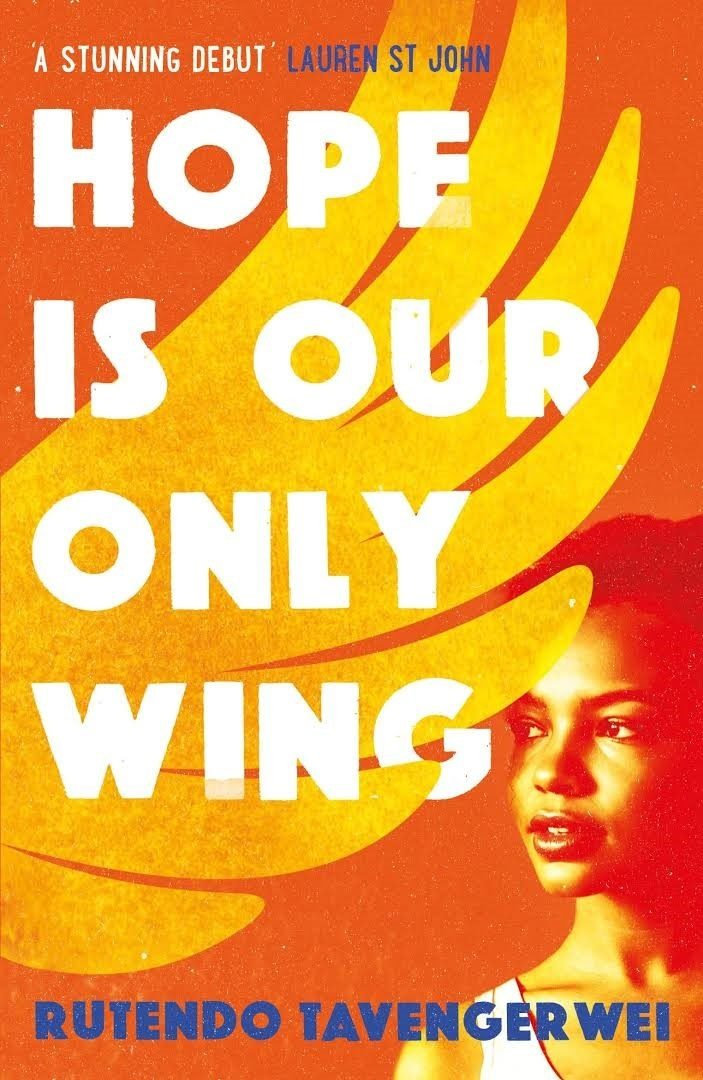 the book cover for hope is our only wing