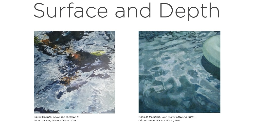 Exhibition Opening - April 4th Surface and Depth