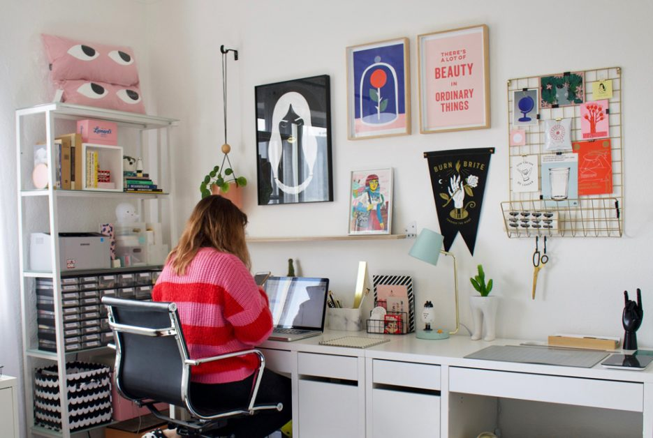 Nicole Dalton of GhostGoods in her studio in Cape Town. Image by Amber Rose Cowie.