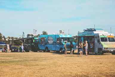 Discover unique cuisine at the food trucks!