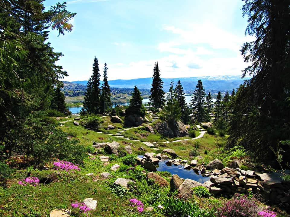 Ohme Gardens in Wenatchee
