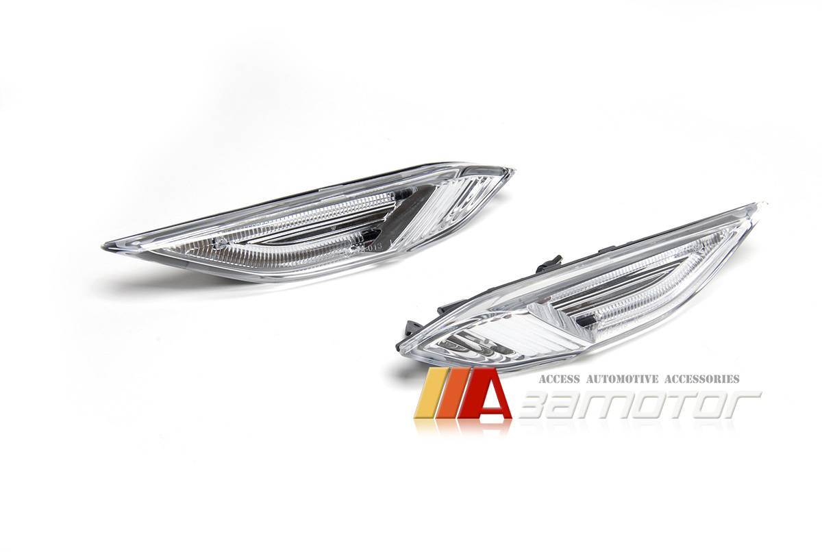 White Led Indicator Side Marker Lamps Set For Porsche
