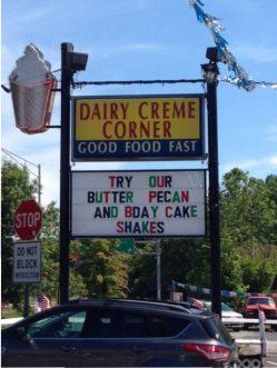 19 First visit to Dairy Creme Corner