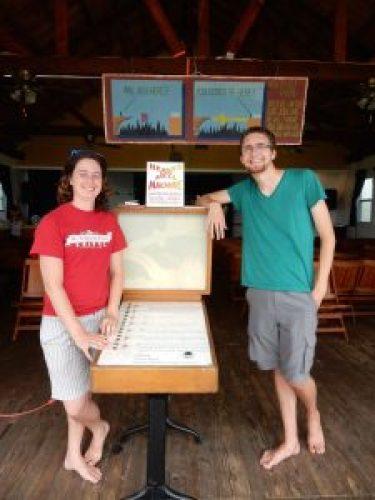 Isaiah English and Danny Diekmann, Boardwalk Chapel 2015, photo by Janet B.