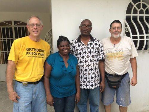 Haiti May 2015 photo 1 Raun Treible, Delfils, John Flynn photo from John Flynn