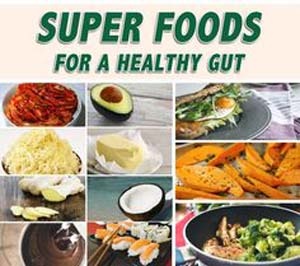 Undichte Gut Super Foods