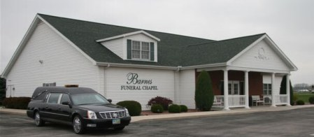 Barnes Funeral Chapel   Delta OH funeral home and cremation LOCATION  site image  Barnes Funeral Chapel