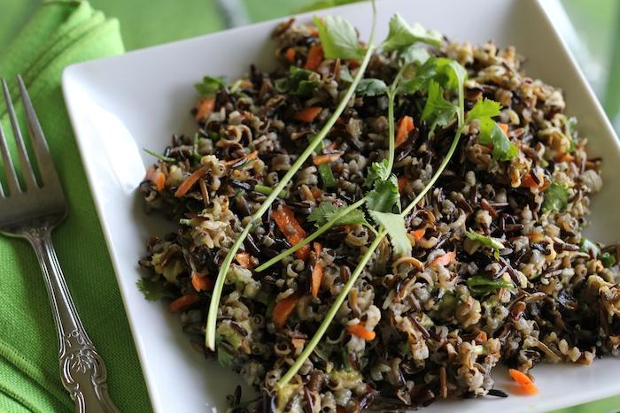 Spicy and Sweet Raw Vegan Wild Rice Recipe