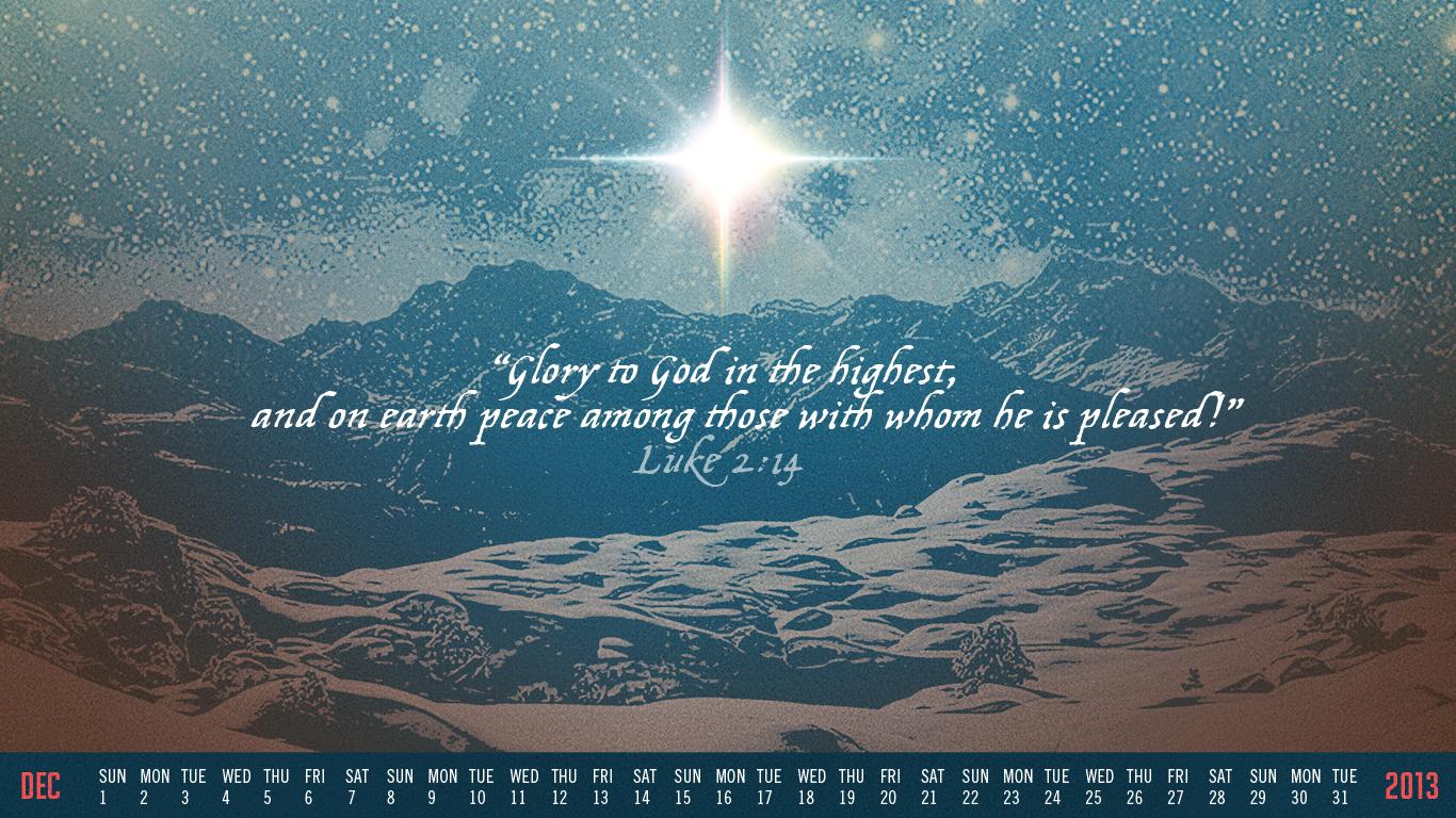Free Desktop Wallpaper Calendars December 2013 Tim Challies