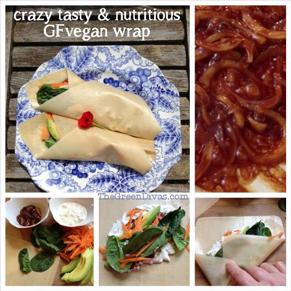Vegan Tzatziki Wrap