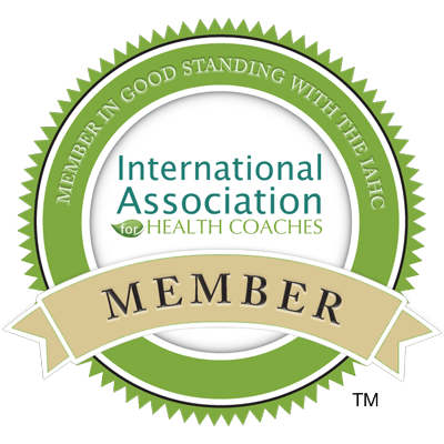 International Association for Health Coaches Member!