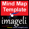 Imageli Mind Map Template. Thumbnail Size Square Format. Image size: 100x100 px