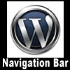 Wordpress Navigation Bar. Thumbnail Size Square Format. Website Banner size: 100x100 px