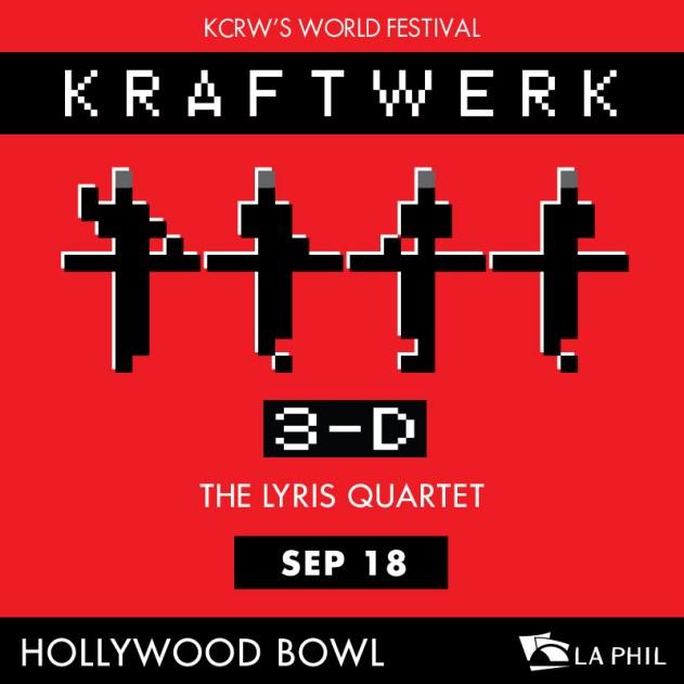 Kraftwerk Hollywood Bowl September 18 2016