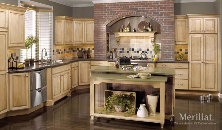 15 Professionally Merilot Kitchen Cabinets That Will Make Your Neighbours Jealous