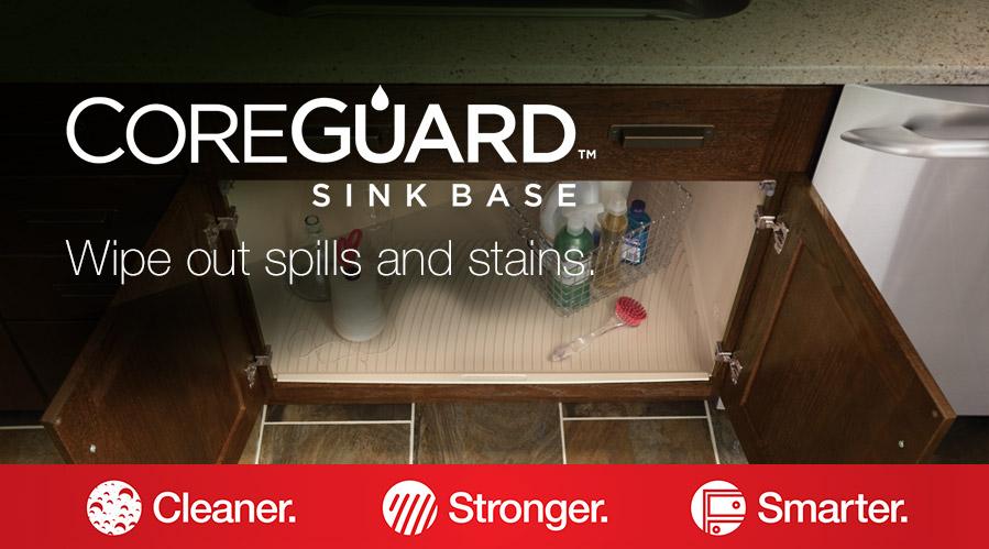 coreguard sink base merillat