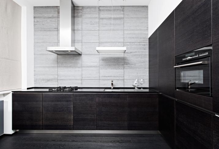 Modern Black Kitchen Designs Remodeling Contractor