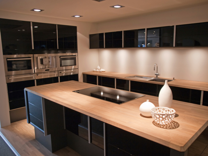 Modern Black Kitchen Designs Remodeling Contractor