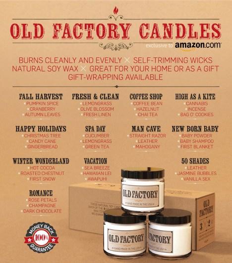 gourmet candles