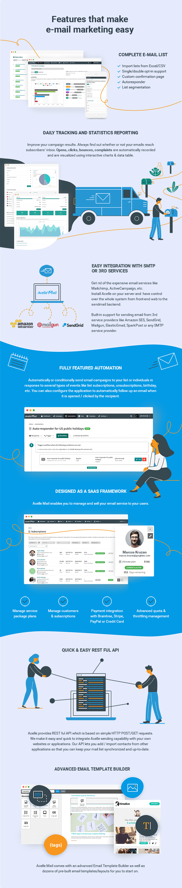 Acelle Email Marketing Web Application - 4