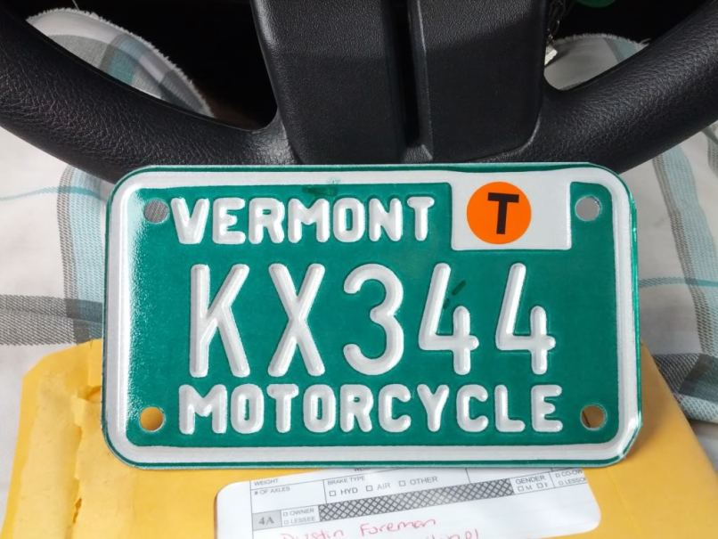 I Plan On Just Rocking The Vt Plate Until End Of Summer Then Will Start Process Trying To Get A Colorado Title Anyways Heres Photo For