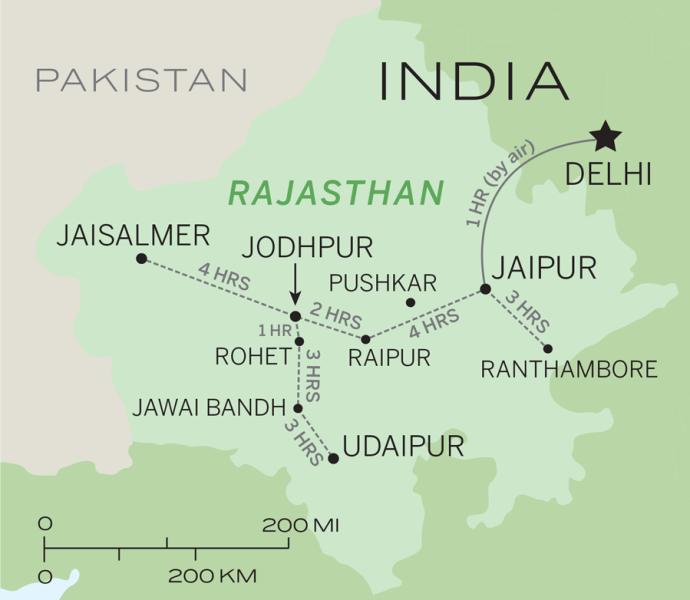 cidades mais seguras para mulheres que viajam sozinhas Rajasthan, Índia
