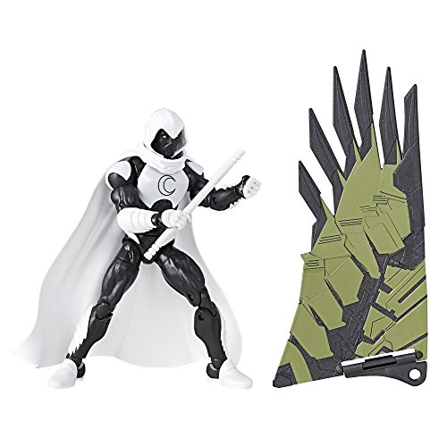 Marvel Legends Spider-Man Moon Knight Action Figure (Build Vulture's Flight Gear), 6 Inches