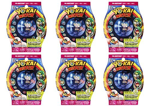Yo-Kai Yo-Motion SEASON 2 Series 1 Medals – Six Blind Bags Bundle – 12 Random Medals