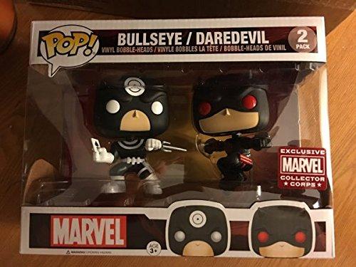 Funko Marvel Funko POP! Marvel Daredevil & Bullseye Exclusive Vinyl Bobble Head 2-Pack