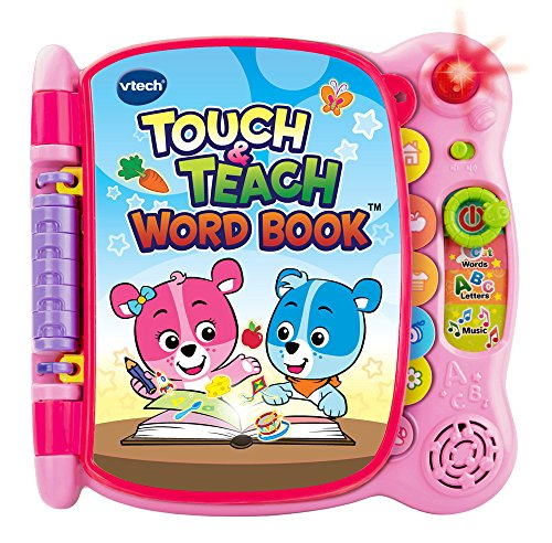 VTech Touch and Teach Word Book – Pink