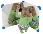 Pair Of 24″ Corner Mirror by Children's Factory