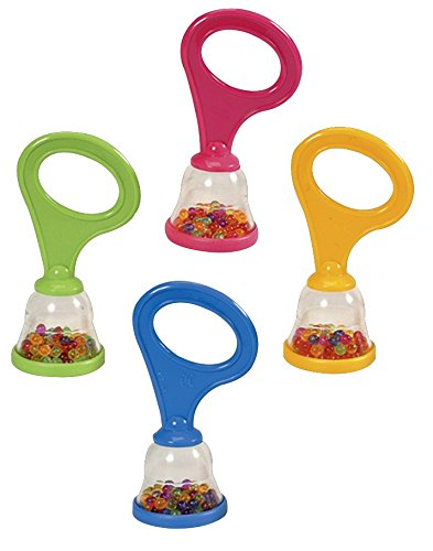 Hohner Kids Mini Shakers with Handle Rattle, 36-Pack