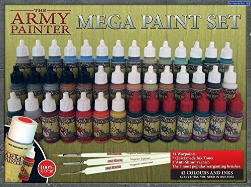 The Army Painter: Miniature Painting Kit, Mega Paint Set II