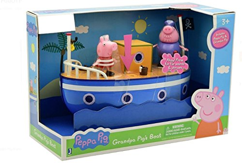 Peppa Pig Grandpas Pigs Boat Pouch Peppa Exclusive