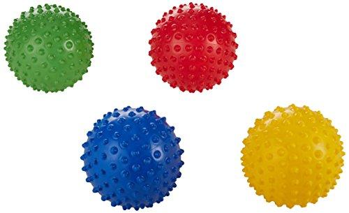 Edushape 700177 Textured Sensory Balls, 7″ Size, 7″ Height, 7.25″ Width, 7.25″ Length (Pack of 4)