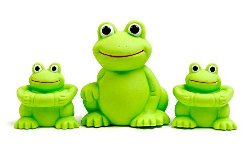 Vital Baby Play 'n' Splash Frogs Family – Set of 3