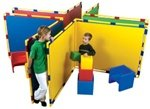 Children's Factory Big Screen Right Angle Panels (CF900-533) Green
