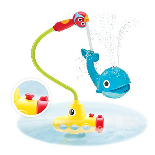 Baby Bath Toy – Submarine Spray Whale- Battery Operated Water Pump With Easy to Grip Hand Shower