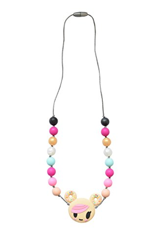 Itzy Ritzy Happens tokidoki Teething Necklace, Donutella, Multi