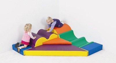 Children's Factory Marshmallow Upside Downs Climber