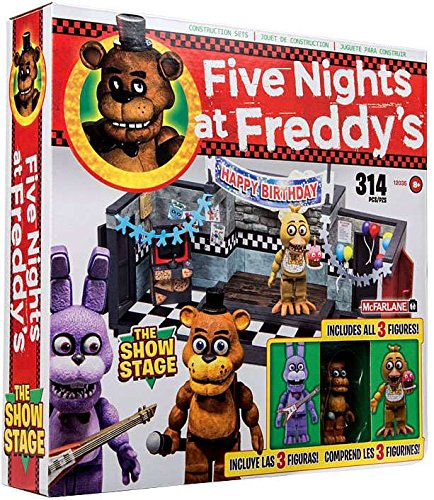 Five Nights at Freddys The Show Stage Construction Set