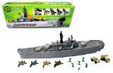Giant USS Battleship